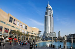 The Address Hotel, Dubai Stock Photography
