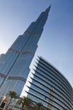 Burj Khalifa und das Adressen-Hotel Lizenzfreies Stockfoto