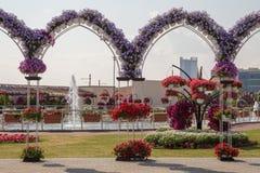 DUBAI, UAE - 20. JANUAR: Wunder-Garten in Dubai, am 20. Januar, Stockfoto