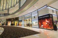 DUBAI UAE - januari 06,2018: inom den Dubai gallerian Dubaien M Royaltyfri Fotografi