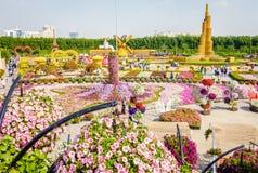 Dubai Miiracle Garden Stock Photo