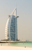 DUBAI, UAE - JULY 2008: The grand sail shaped Burj al Arab Hotel Stock Photos