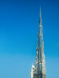 DUBAI, UAE-JUNE 1: Burj Khalifa the highest building in the world Royalty Free Stock Images