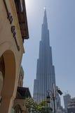 DUBAI UAE - MAJ 20, 2016: Burj Khalifa Royaltyfri Bild