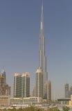 DUBAI UAE - MAJ 11, 2016: Burj Khalifa Arkivfoto