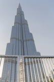 DUBAI UAE - MAJ 11, 2016: Burj Khalifa Royaltyfri Foto