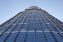 DUBAI UAE - MAJ 20, 2016: Burj Khalifa torn Arkivbilder