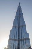 DUBAI UAE - MAJ 11, 2016: Burj Khalifa torn Fotografering för Bildbyråer