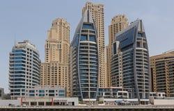 DUBAI UAE - MAJ 11, 2016: hotell i Dubai Royaltyfri Bild
