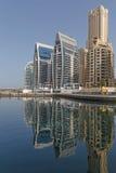 DUBAI UAE - MAJ 11, 2016: hotell i Dubai Royaltyfri Foto