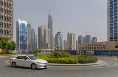 DUBAI UAE - MAJ 11, 2016: torn Arkivfoton
