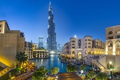 Burj Khalifa tower Royalty Free Stock Photo