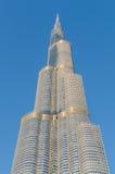 DUBAI, UAE - MARCH 1: High rise buildings  in Dubai, UAE. Burj K Royalty Free Stock Images