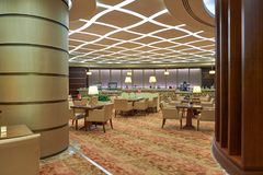 Emirates first class lounge Royalty Free Stock Images