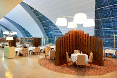 Emirates first class lounge Royalty Free Stock Image