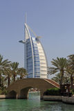 DUBAI, UAE - MAY 14, 2016: Burj Al Arab hotel. In Dubai Royalty Free Stock Photo