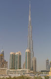 DUBAI, UAE - MAY 11, 2016: Burj Khalifa Stock Photo
