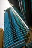 DUBAI,UAE - MAY 18: Dubai Downtown skyline. Dubai Sheikh Zayed R Stock Image