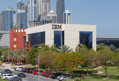 DUBAI, UAE - MAY 15, 2016: IBM Middle East building Royalty Free Stock Photo