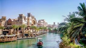 Dubai, UAE - May 31, 2013: Jumeirah Beach Hotel royalty free stock photos