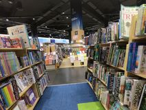 Dubai UAE May 2019 - Kids Books displayed at a library, book store. Wide Variety Of Books For Sale