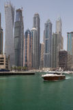 DUBAI, UAE - MAY 12, 2016: Marina district Royalty Free Stock Photography