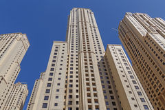 DUBAI, UAE - MAY 15, 2016: towers Royalty Free Stock Photos