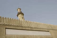 Dubai UAE minaret of Grand Mosque in Bur Dubai Royalty Free Stock Photography