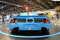 The N360 Shaali Motorsports sportscar on Dubai Motor Show 2017 Stock Photography
