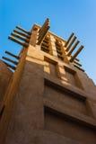 DUBAI UAE - NOVEMBER 15: Sikten av Souken Madinat Jumeirah Arkivfoto