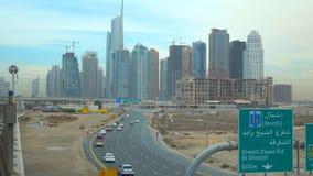 DUBAI, UAE - NOVEMBER 2018 : Skyscrapers,Dubai skyline royalty free stock image