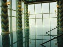 Assawan Badekurort und Fitnessstudio im arabischen Hotel Burj Als in Dubai. Lizenzfreie Stockfotos