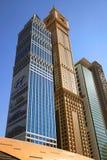 Beskåda på skyskrapor för Sheikh Zayed Väg Royaltyfri Fotografi