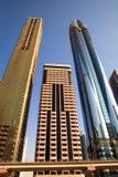 Beskåda på skyskrapor för Sheikh Zayed Väg Royaltyfria Bilder