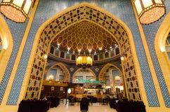 Dubai, UAE, shopping de Battuta, em novembro de 2015 Fotografia de Stock Royalty Free