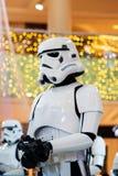 Dubai, United Arab Emirates - December 11, 2018: Stormtroopers Star wars characters in Dubai mall