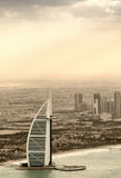 DUBAI, UNITED ARAB EMIRATES - DECEMBER 2016: World's most luxuri Royalty Free Stock Images