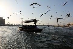 Dubai vattentaxi Royaltyfria Bilder