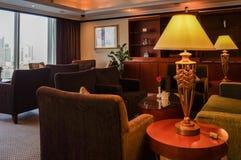 dubai Verano 2016 El interior brillante del hotel Hilton Sharjah Imagenes de archivo