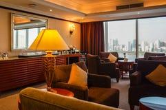 dubai Verano 2016 El interior brillante del hotel Hilton Sharjah Fotografía de archivo
