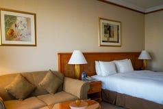 dubai Verano 2016 El interior brillante del hotel Hilton Sharjah Fotos de archivo