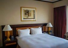 dubai Verano 2016 El interior brillante del hotel Hilton Sharjah Foto de archivo libre de regalías