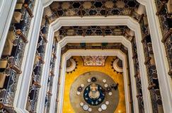 dubai Verano 2016 Interior brillante y moderno el hotel Waldorf Astoria Ras Al Khaimah Foto de archivo libre de regalías