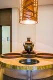 dubai Verano 2016 Interior brillante y moderno la palma Jumeirah de Waldorf Astoria Dubai del hotel Imagen de archivo libre de regalías
