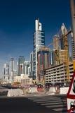 Dubai-Verkehr Lizenzfreie Stockbilder