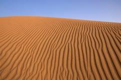Dubai-Wüste Lizenzfreies Stockfoto