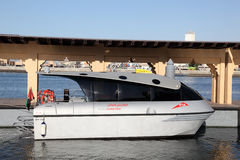 Dubai Water Taxi Royalty Free Stock Image