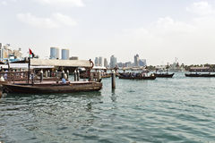 Dubai Water Taxi Royalty Free Stock Photo