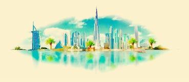 Dubai Stock Photo