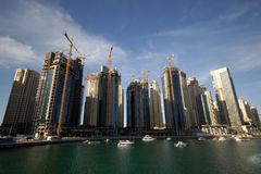 Free Dubai Waterfront Construction Royalty Free Stock Images - 3993859